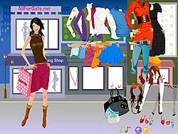 Hot Fashion Shopping Girl game