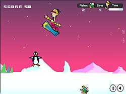 Snowboard Safari game