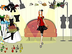 Funky Clothing Dressup game