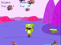 Happy Tree Friends - Jumping Nutty game
