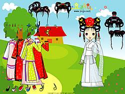 Chinese Princess Dressup game