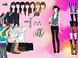 Fashion Boots Dress Up game