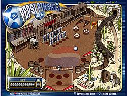 Pepsi Pinball game