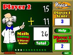 Gioca gratuitamente a Two Player Math Game