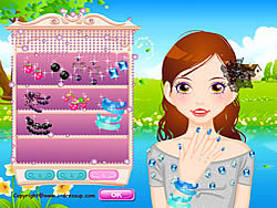 New Face Dressup game