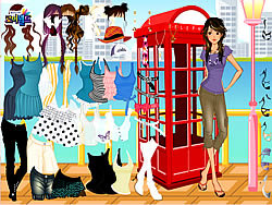 Phonebooth Dress Up game