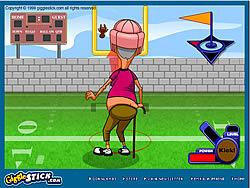 Grampa Grumble Field Goal Challenge game