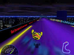 3D Hyperjet Racing game