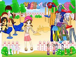 Fashion Doll Dressup game