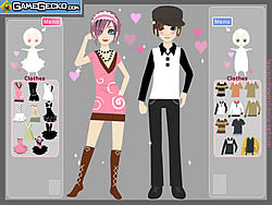 Date Styles Dressup game
