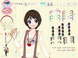 Pretty Little Girl Dressup game