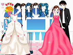 The Bride Dressup game