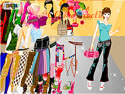 About Color Tops Dress Up game