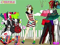 Artist Girl Dressup game