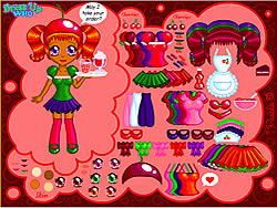 Gioca gratuitamente a Cherry Soda Dress Up