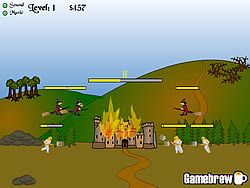 Castle Fire game