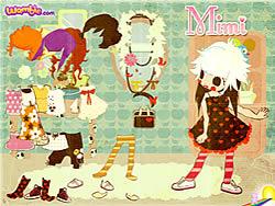 Gioca gratuitamente a Mimi the Doll Dressup