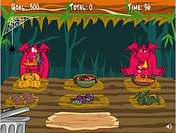 Monster Snack game