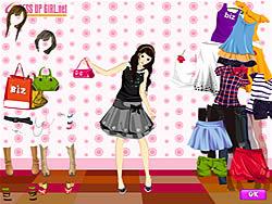 Gioca gratuitamente a Summer Shopper Dressup