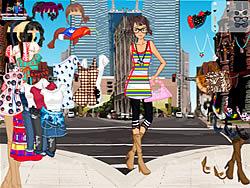 Gioca gratuitamente a Manhattan Shopping Girl