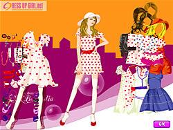 Gioca gratuitamente a Stylish Dot Dresses