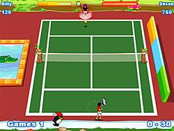 Играть бесплатно в игру Twisted Tennis